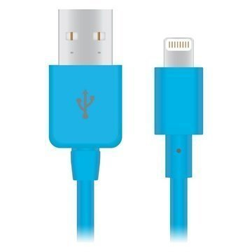 Naztech Lightning / USB Charge Sync Cable Blue