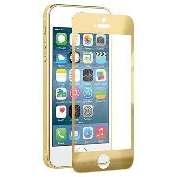 Naztech Näytönsuoja Karkaistua Lasia iPhone 5 / 5S / SE / 5C Kultainen