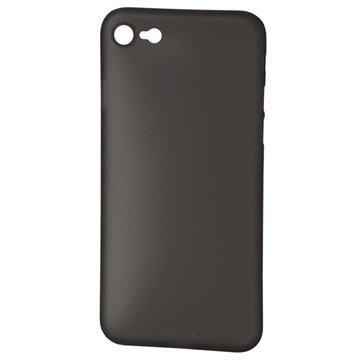 Nevox StyleShell Air suojakuori iPhone 7 Läpinäkyvä Musta