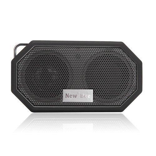 New Bee Langaton Bluetooth Kaiutin Mikrofonilla Musta