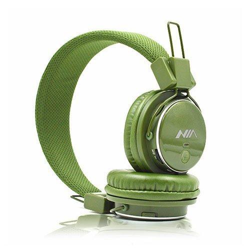 Nia Q8 Bluetooth Kuulokkeet Armeija Vihreä