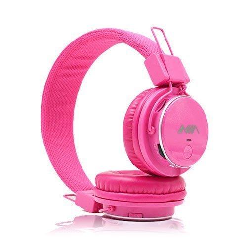 Nia Q8 Bluetooth Kuulokkeet Kuuma Pinkki