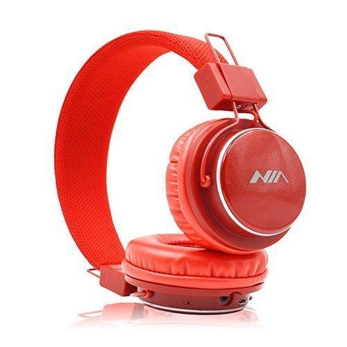 Nia Q8 Bluetooth Kuulokkeet Punainen