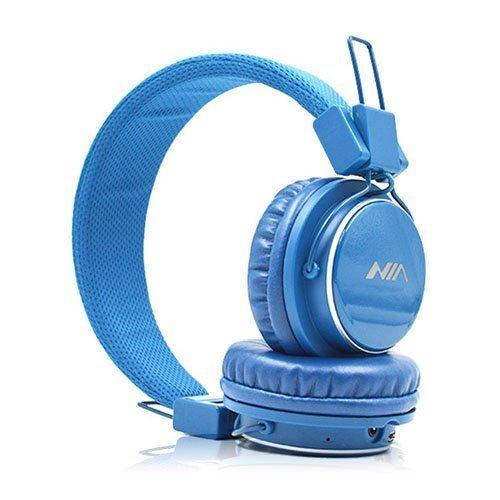 Nia Q8 Bluetooth Kuulokkeet Tumma Sininen