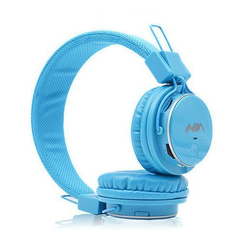 Nia Q8 Bluetooth Kuulokkeet Vaalea Sininen