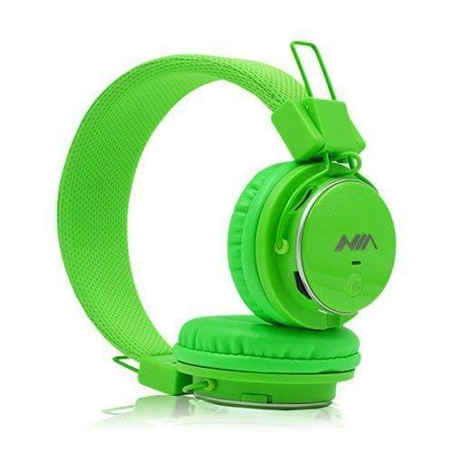 Nia Q8 Bluetooth Kuulokkeet Vihreä