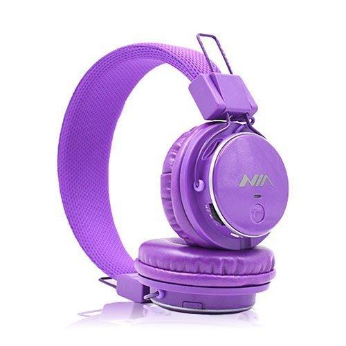 Nia Q8 Bluetooth Kuulokkeet Violetti