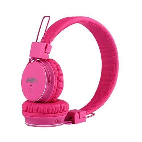 Nia X2 Bluetooth Kuulokkeet Kuuma Pinkki