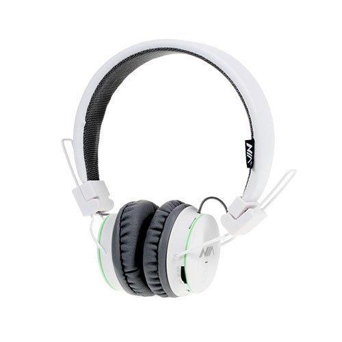 Nia X2 Bluetooth Kuulokkeet Valkoinen