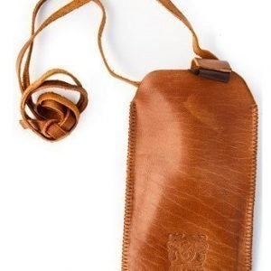 Nic & Mel Cliff Hanger for iPhone Cognac
