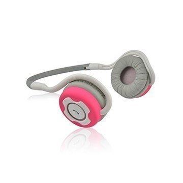 NoiseHush NS400 Bluetooth Stereokuulokkeet Valkoinen / Vaaleanpunainen