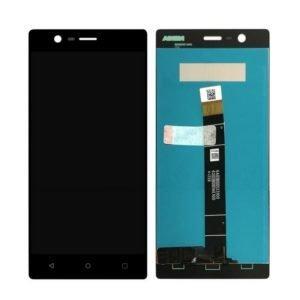 Nokia 3 Näyttö Musta
