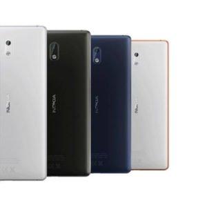 Nokia 3 Takakansi Sininen