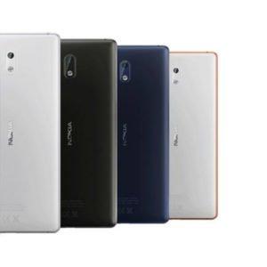 Nokia 3 Takakansi Valkoinen