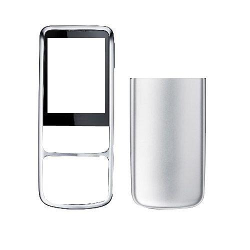 Nokia 6700c yhteensopiva kuori hopea