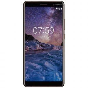 Nokia 7 Plus Dual Sim 64 Gt Musta / Kupari Puhelin