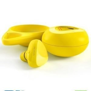 Nokia BH-220W Luna Bluetooth NFC Headset & Qi Wireless Charging Yellow