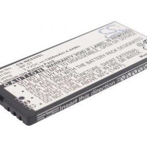 Nokia BP-5T yhteensopiva akku 1200 mAh