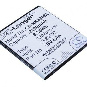 Nokia BV-L4A yhteensopiva akku 2200 mAh