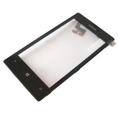 Nokia Lumia 520 / 525 kosketuspaneeli Digitizer mustalla kehyksellä