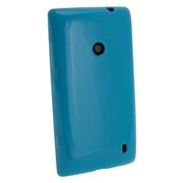 Nokia Lumia 520 iGadgitz Crystal TPU-Kotelo Sininen