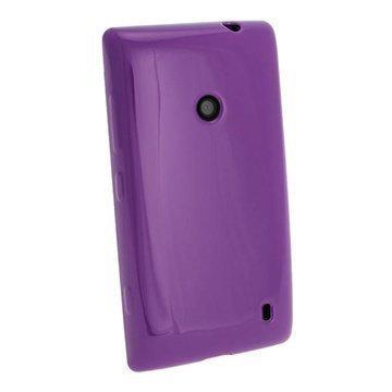 Nokia Lumia 520 iGadgitz Crystal TPU-Kotelo Violetti