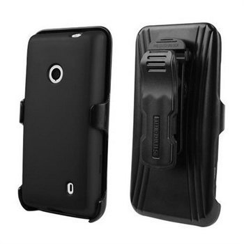 Nokia Lumia 521 Beyond Cell Cell 3in1 Combo Cover Black