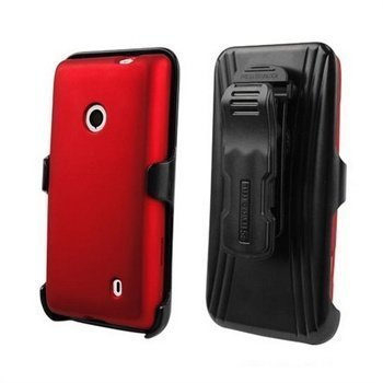 Nokia Lumia 521 Beyond Cell Cell 3in1 Combo Cover Red / Black