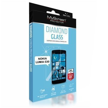 Nokia Lumia 530 530 Dual Sim MyScreen Diamond Glass Näytönsuoja