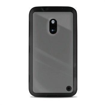 Nokia Lumia 620 Puro Kirkas Kotelo Musta