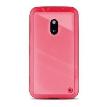 Nokia Lumia 620 Puro Kirkas Kotelo Vaaleanpunainen