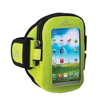 Nokia Lumia 630 Lumia 635 Armpocket i-30 Käsivarsikotelo L Keltainen