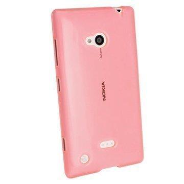 Nokia Lumia 720 iGadgitz Crystal TPU-Kotelo Pinkki
