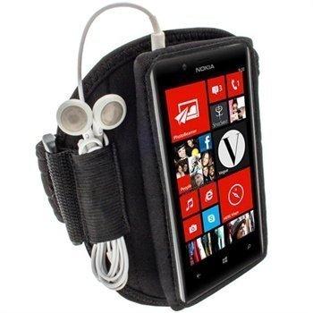 Nokia Lumia 720 iGadgitz Neoprene Sports Jogging Armband Black