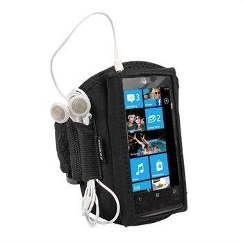 Nokia Lumia 800 iGadgitz Neoprene Armband Black