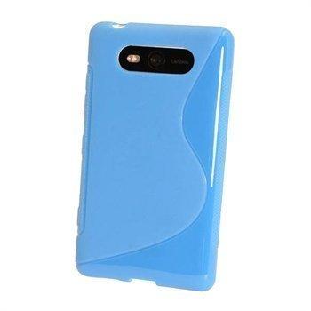 Nokia Lumia 820 iGadgitz Kaksivärinen TPU-Suojakotelo Sininen
