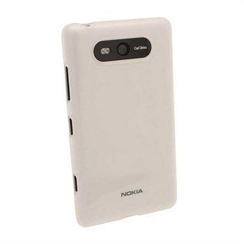 Nokia Lumia 820 iGadgitz Kiiltävä TPU-Suojakotelo Selkeä