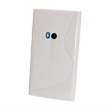Nokia Lumia 920 iGadgitz Kaksivärinen TPU-Suojakotelo Valkoinen