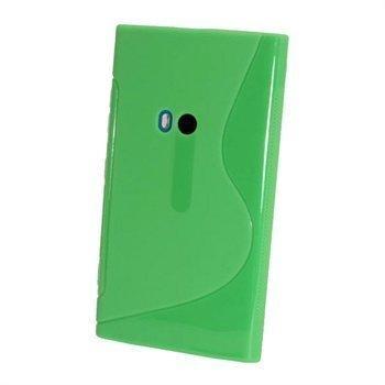 Nokia Lumia 920 iGadgitz Kaksivärinen TPU-Suojakotelo Vihreä