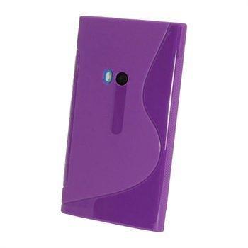 Nokia Lumia 920 iGadgitz Kaksivärinen TPU-Suojakotelo Violetti