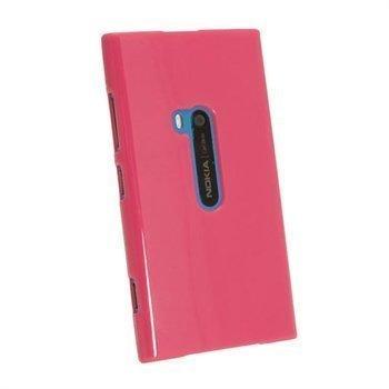 Nokia Lumia 920 iGadgitz Kiiltävä TPU-Suojakotelo Tumma Pinkki