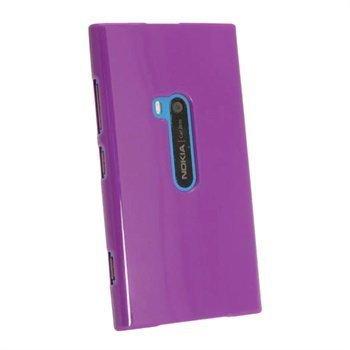 Nokia Lumia 920 iGadgitz Kiiltävä TPU-Suojakotelo Violetti