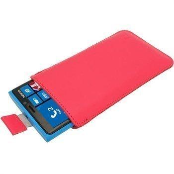 Nokia Lumia 920 iGadgitz Leather Case Pink