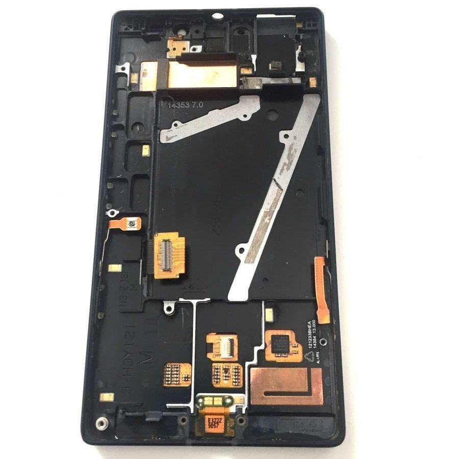 Nokia Lumia 930 täydellinen etupaneeli + runko Musta