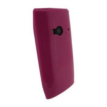 Nokia X7 iGadgitz TPU-Suojakotelo Pinkki