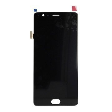 OnePlus 3 LCD Näyttö Musta