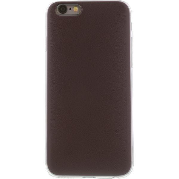 Original Slide Card case kuori iPhone 6 slide korttipaikka ruskea
