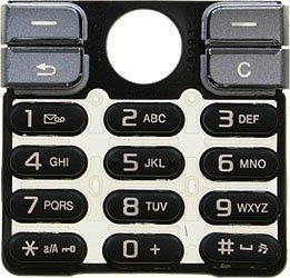 Original Sony Ericsson K510i Keypad Black