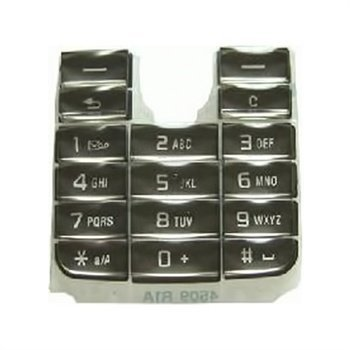 Original Sony Ericsson T630 Keypad Latin Black