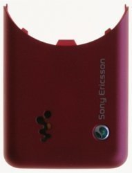 Original Sony Ericsson W660i Battery Cover Red